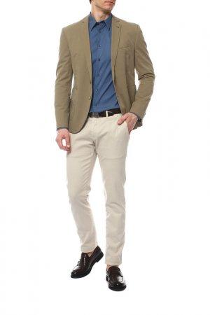 Пиджак Cinque. Цвет: светло-оливковый