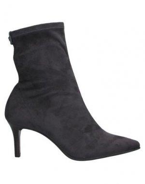 Полусапоги и высокие ботинки PEDRO MIRALLES. Цвет: стальной серый