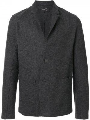 Пиджак оверсайз Transit. Цвет: серый