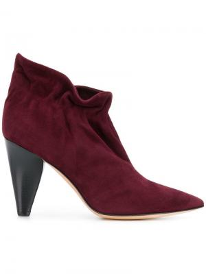 Slip-on ankle boots Derek Lam. Цвет: красный