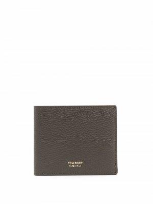 Бумажник с логотипом TOM FORD. Цвет: зеленый