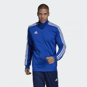 Куртка Tiro 19 Performance adidas. Цвет: белый