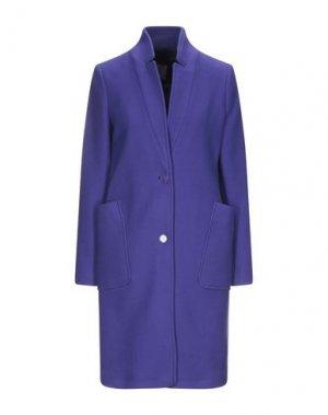 Пальто GIGUE. Цвет: фиолетовый