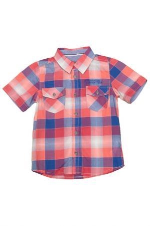 Рубашка JEAN BOURGET. Цвет: красный