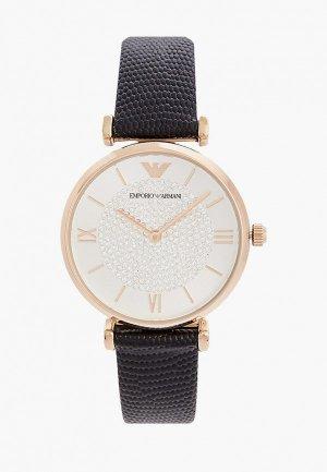 Часы Emporio Armani AR11387. Цвет: черный