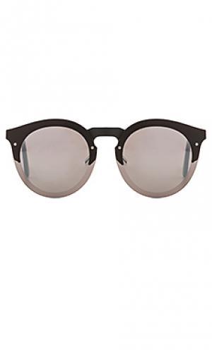 Солнцезащитные очки palermo illesteva. Цвет: черный