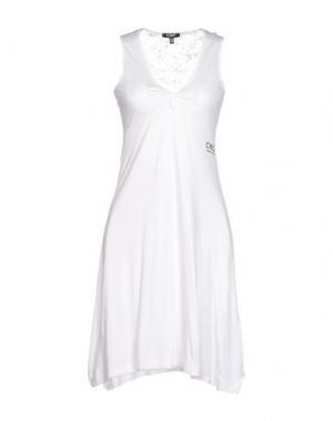 Короткое платье C'N'C' COSTUME NATIONAL. Цвет: белый
