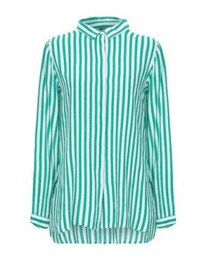 Pубашка B.YOUNG. Цвет: зеленый