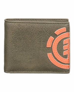 Кошелек Element Daily Wallet Element&CO. Цвет: зеленый