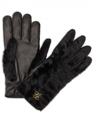 Перчатки с логотипом FF Fendi