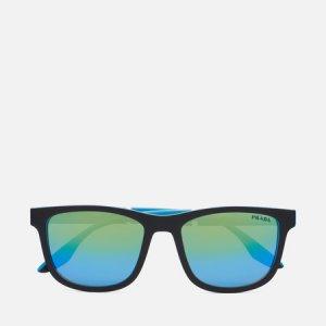 Солнцезащитные очки 04XS-05S05L-3N Prada Linea Rossa. Цвет: чёрный