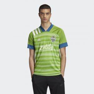 Домашняя игровая футболка Сиэтл Саундерс 20/21 Performance adidas. Цвет: зеленый