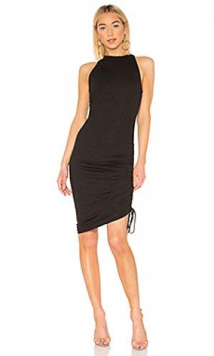 Платье-майка peach n:philanthropy. Цвет: черный