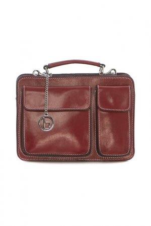 Bag Lia Biassoni. Цвет: red