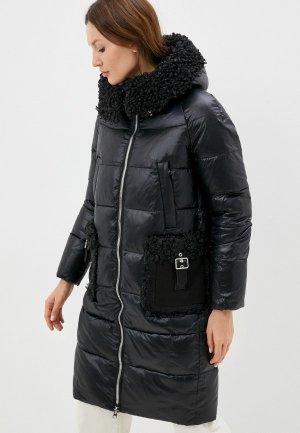 Куртка утепленная Снежная Королева CLW2DC403. Цвет: черный