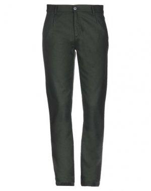Повседневные брюки FRANKLIN & MARSHALL. Цвет: зеленый-милитари