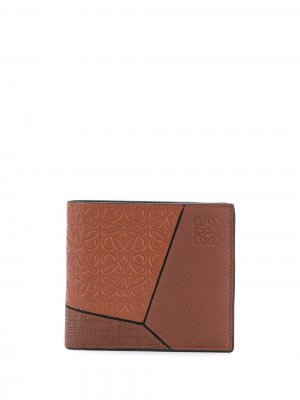 Бумажник Puzzle Loewe. Цвет: коричневый