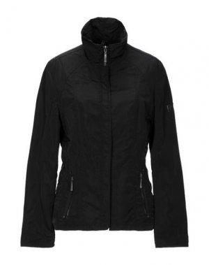 Легкое пальто BARBARA LEBEK. Цвет: черный