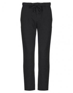 Повседневные брюки COMODO. Цвет: черный