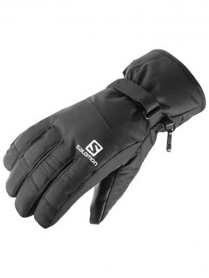 Перчатки GLOVES FORCE GTX M BLACK SALOMON. Цвет: черный