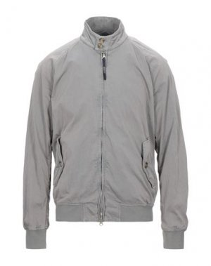 Куртка BARACUTA. Цвет: голубиный серый
