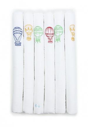 Бортик для детской кровати Cloud factory Beauty Ballons. Цвет: белый