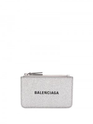 Картхолдер Everyday Balenciaga. Цвет: серебристый