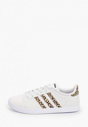 Кеды adidas COURTPOINT. Цвет: белый