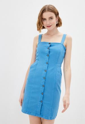 Сарафан adL. Цвет: голубой