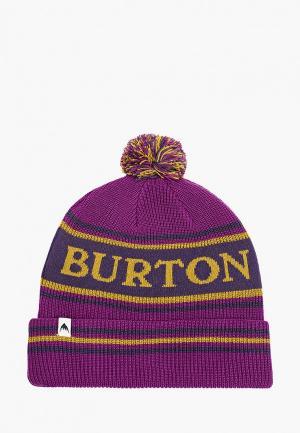 Шапка Burton TROPE BNIE. Цвет: фиолетовый