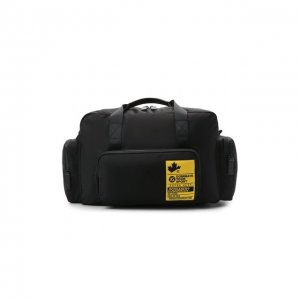 Текстильная спортивная сумка Dsquared2. Цвет: чёрный
