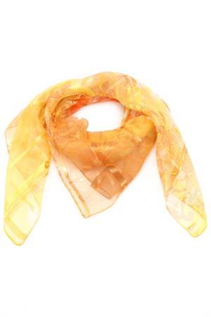 Платок F.FRANTELLI. Цвет: желтый, коралловый