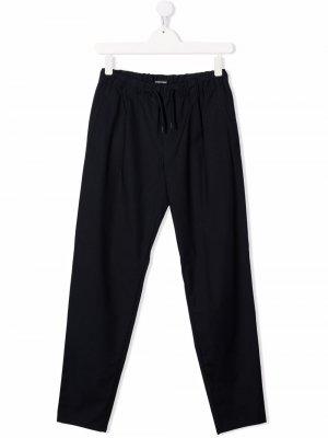 TEEN tapered trousers Emporio Armani Kids. Цвет: синий
