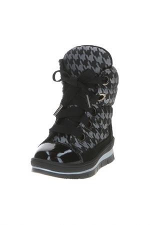 Ботинки Jog Dog. Цвет: серый принт