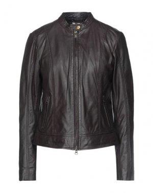 Куртка BOMBOOGIE. Цвет: темно-коричневый