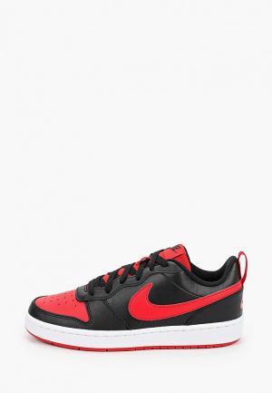 Кеды Nike COURT BOROUGH LOW 2 (GS). Цвет: черный