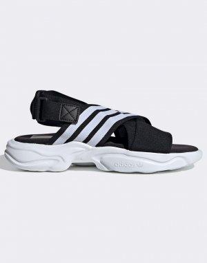 Черные сандалии Magmur-Черный цвет adidas Originals