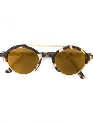 Солнцезащитные очки Milan Illesteva. Цвет: коричневый