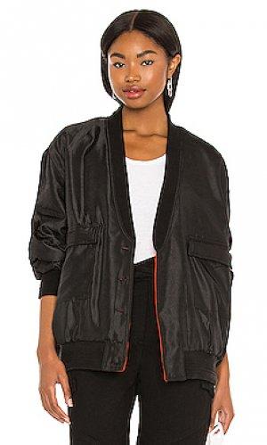 Куртка salome RtA. Цвет: черный