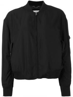 Куртка-бомбер на молнии Calvin Klein Jeans. Цвет: чёрный