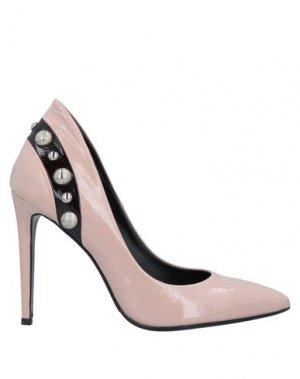 Туфли GIANNI MARRA. Цвет: розовый