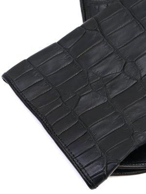 Перчатки из кожи крокодила SERAPHIN
