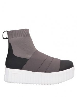 Полусапоги и высокие ботинки FESSURA. Цвет: черный