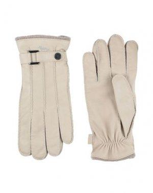 Перчатки HARMONT&BLAINE. Цвет: песочный