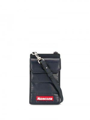 Cross-body smartphone bag Moncler. Цвет: синий