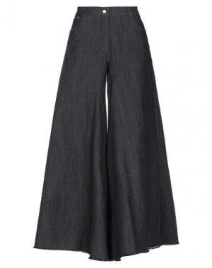 Джинсовая юбка BABYLON. Цвет: стальной серый