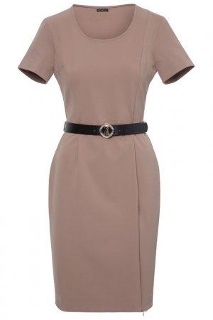 Платье-футляр Apart. Цвет: коричневый