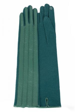 Перчатки Dali Exclusive. Цвет: зеленый, изумрудный