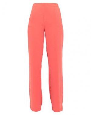 Повседневные брюки COMPAGNIA ITALIANA. Цвет: коралловый
