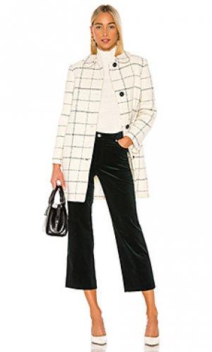 Шерстяное пальто camille A.P.C.. Цвет: белый
